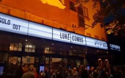 Luke Combs with support from Ashley McBryde